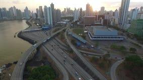 Centro di convenzione del Panama stock footage