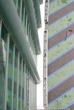 Centro di convenzione di Anaheim che osserva giù Fotografia Stock
