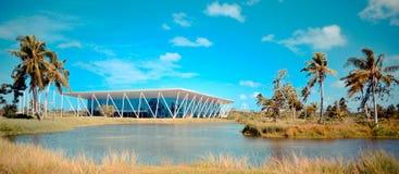 Centro di convenzione equatoriale Fotografie Stock Libere da Diritti