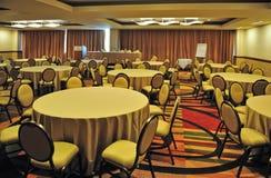 Centro di convenzione vuoto Corridoio Fotografie Stock Libere da Diritti
