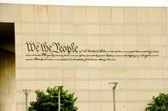 Centro di costituzione Immagini Stock Libere da Diritti