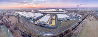 Centro di distribuzione di Amazon fotografia stock libera da diritti