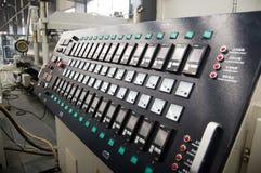 Centro di distribuzione di corrente elettrica Immagini Stock Libere da Diritti