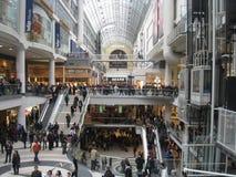 Centro di Eaton a Toronto, Canada Fotografia Stock