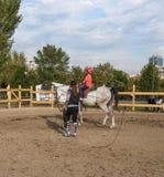 Centro di equitazione Fotografia Stock