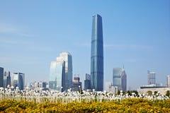 Centro di finanza internazionale di Guangzhou Fotografia Stock Libera da Diritti