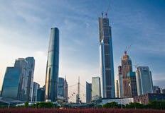 Centro di finanza internazionale di Guangzhou Fotografia Stock