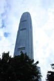 Centro di finanze di Internatioal a Hong Kong Fotografie Stock Libere da Diritti