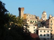 Centro di Genova Immagine Stock Libera da Diritti