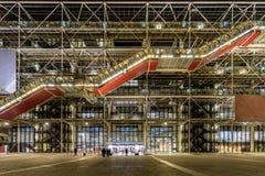 Centro di Georges Pompidou immagini stock libere da diritti