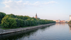 Centro di Kaliningrad fotografie stock libere da diritti