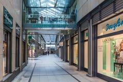 Centro di Katharinen Viertel a Brema Immagine Stock Libera da Diritti