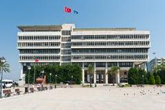 Centro di Konak, provincia di Smirne della Turchia Fotografie Stock