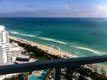 Centro di Miami Beach Fotografia Stock Libera da Diritti