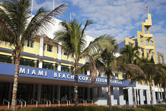 Centro di Miami Beach Covention Fotografia Stock Libera da Diritti