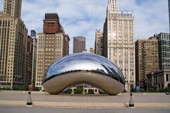 Centro di millennio, Chicago del centro fotografia stock