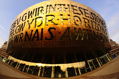 Centro di millennio di Cardiff Immagine Stock