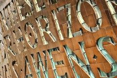 Centro di millennio di Galles, Cardiff Fotografia Stock Libera da Diritti