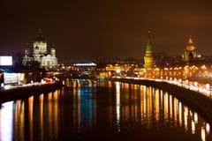 Centro di Mosca, Kremlin Immagini Stock Libere da Diritti