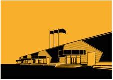 Centro di mostra royalty illustrazione gratis