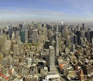 Centro di New York Fotografia Stock