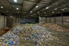 Centro di riciclaggio municipale di Sims Fotografia Stock Libera da Diritti