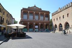 Centro di Rimini, Italia Fotografia Stock Libera da Diritti