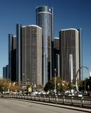 Centro di rinascita di Detroit fotografia stock libera da diritti