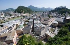 Centro di Salisburgo Immagine Stock Libera da Diritti
