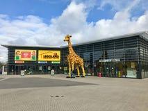 Centro di scoperta di Legoland a Oberhausen, Germania fotografia stock libera da diritti