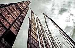 Centro di Seattle Fotografia Stock