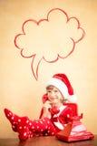 Centro di sostegno di Natale Immagine Stock