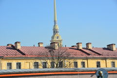 Centro di St Petersburg immagini stock