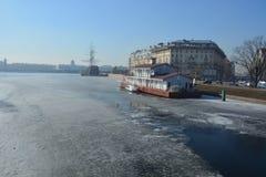Centro di St Petersburg Fotografie Stock