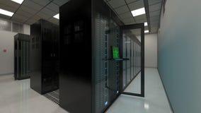 Centro di supercomputing Immagini Stock Libere da Diritti