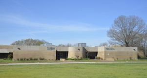 Centro di tecnologia di carriera della High School degli Fayette-articoli, Somerville, TN immagini stock libere da diritti