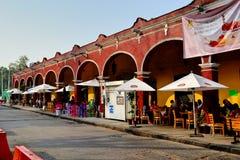Centro di Tlalpan fotografia stock libera da diritti