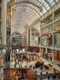 Centro di Toronto Eaton Fotografie Stock