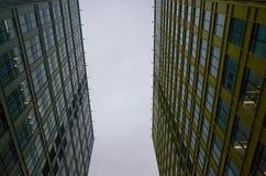 Centro do escritório em Moscou Imagem de Stock