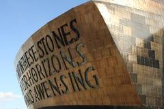 Centro do milênio de Gales Imagens de Stock