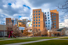 Centro do MIT Stata de Massachusetts Institute of Technology - Cambridge, EUA foto de stock royalty free