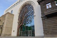 Centro do visitante do banco central, Yerevan fotografia de stock royalty free