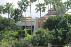 Centro do visitante de Jurassic Park em Orlando, Florida fotos de stock royalty free