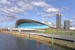 Centro dos Aquatics de Londres imagem de stock royalty free