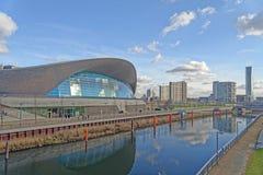Centro dos Aquatics de Londres imagens de stock royalty free