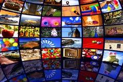 Centro dos meios fotografia de stock royalty free