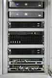 Centro dos servidores de comunicações Imagem de Stock