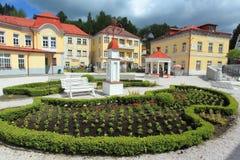 Centro dos termas Libverda Foto de Stock Royalty Free