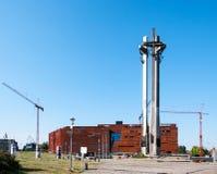 Centro e monumento di solidarietà a Danzica, Polonia Fotografie Stock