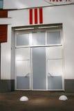 Centro ebreo di tolleranza e del museo a Mosca Porte di entrata Fotografie Stock Libere da Diritti